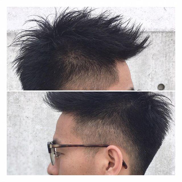 ✂︎ビシッと刈り上げ×ベリーショート✂︎ 潔く刈り上げて、スッキリとした印象のベリーショートです! ハサミで刈り上げることで、頭の形に合わせたきれいなシルエットに仕上げています!髪の硬く、膨らみやすい方には特におすすめのスタイルです! トップも短く、軽さをしっかりと入れてあるのでスタイリングも簡単にきまります!ぜひお試しください! 週末のご予約もぜひ承ります!お待ちしております! #山本和彦