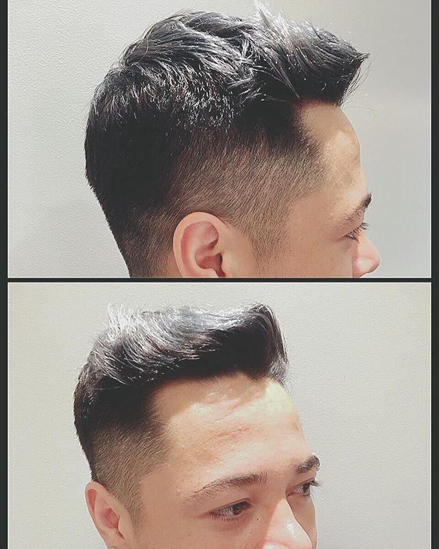 クラシックな刈り上げスタイル!軟毛を生かしたデザインを! どうもこんにちは。 本日ご紹介するのはクラシックな刈り上げスタイルです。 はちまわりまでしっかりと、刈り上げてトップデザインを際立たせます! 軟毛のいいところはスタイリングで髪の毛を遊ばせやすいところ! なので刈り上げはがっつりとるのが吉! 夏はすっきりクラシック刈り上げスタイルがオススメです! 以上 #中島康光